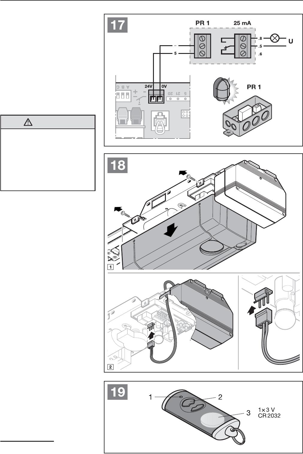 Häufig Bedienungsanleitung Hormann ProMatic 3 (Seite 27 von 124) (Deutsch PE15