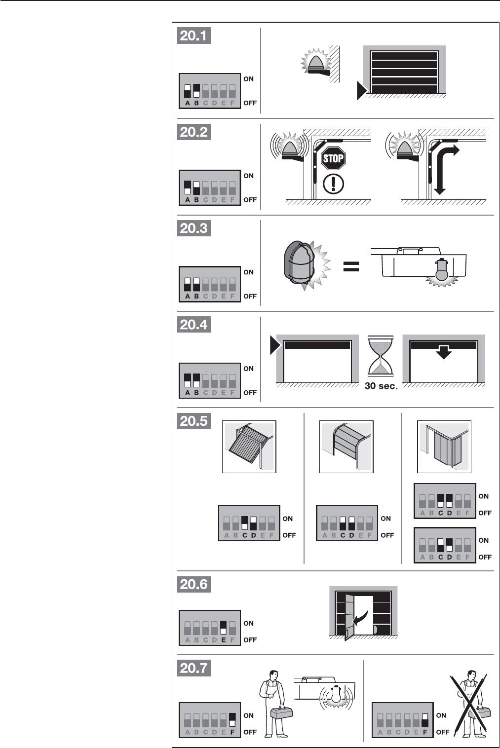 bedienungsanleitung hormann promatic 3 seite 29 von 124. Black Bedroom Furniture Sets. Home Design Ideas