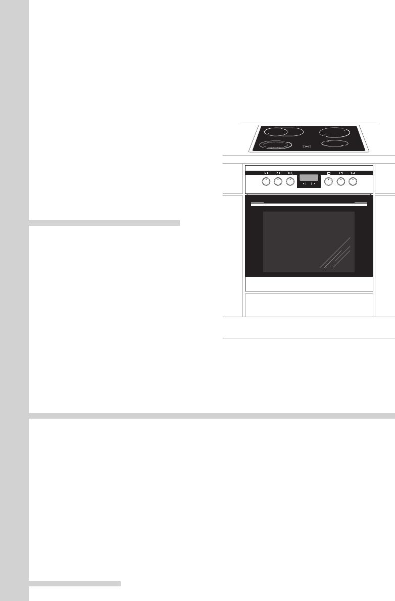 bedienungsanleitung amica ehc 12526 e seite 1 von 80 deutsch franz sisch. Black Bedroom Furniture Sets. Home Design Ideas