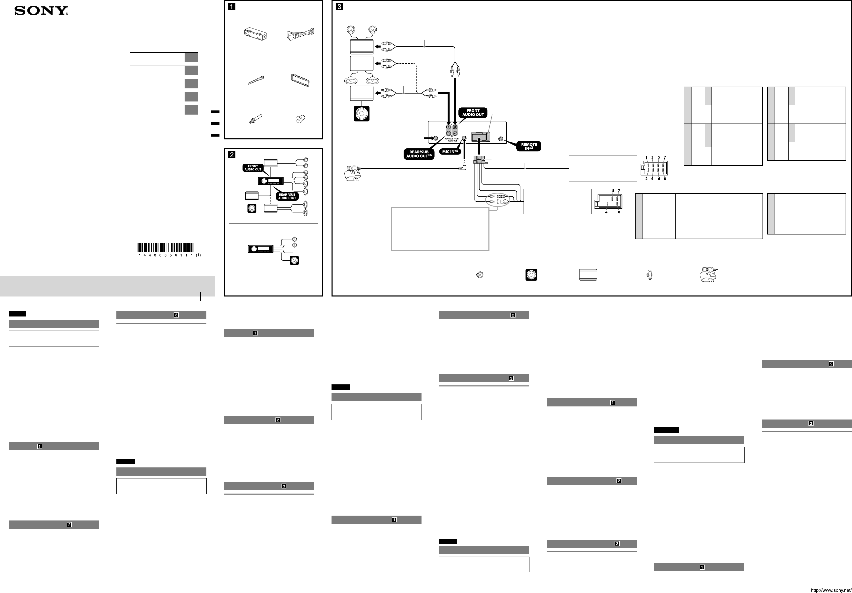 Ausgezeichnet Sony Autoradio Schaltplan Galerie - Elektrische ...