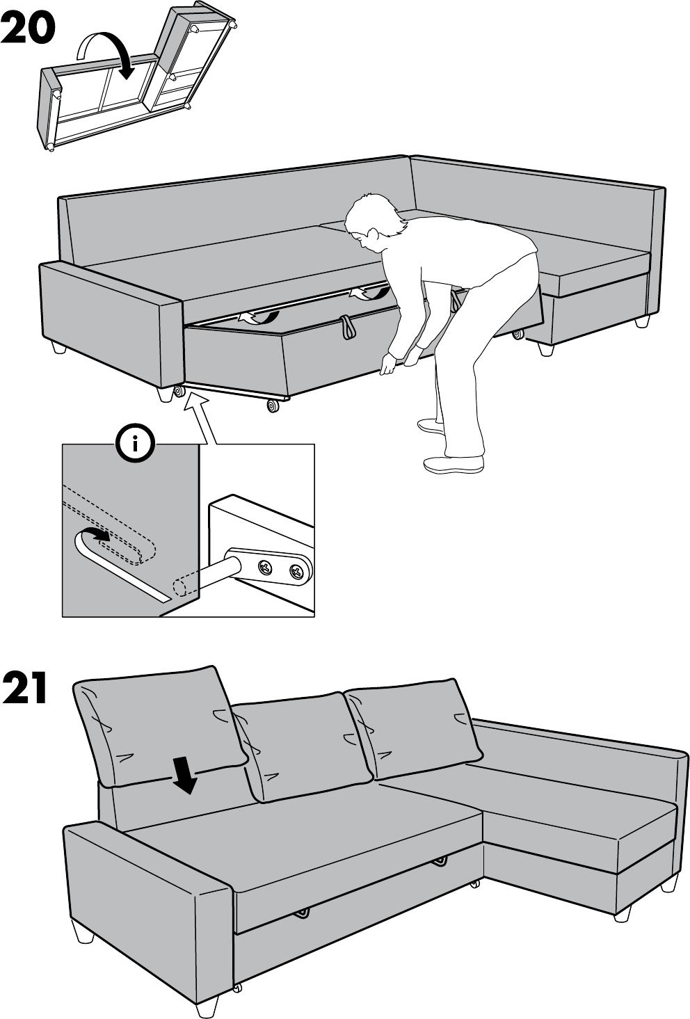 Bedienungsanleitung Ikea Friheten Seite 28 Von 28 Alle Sprachen