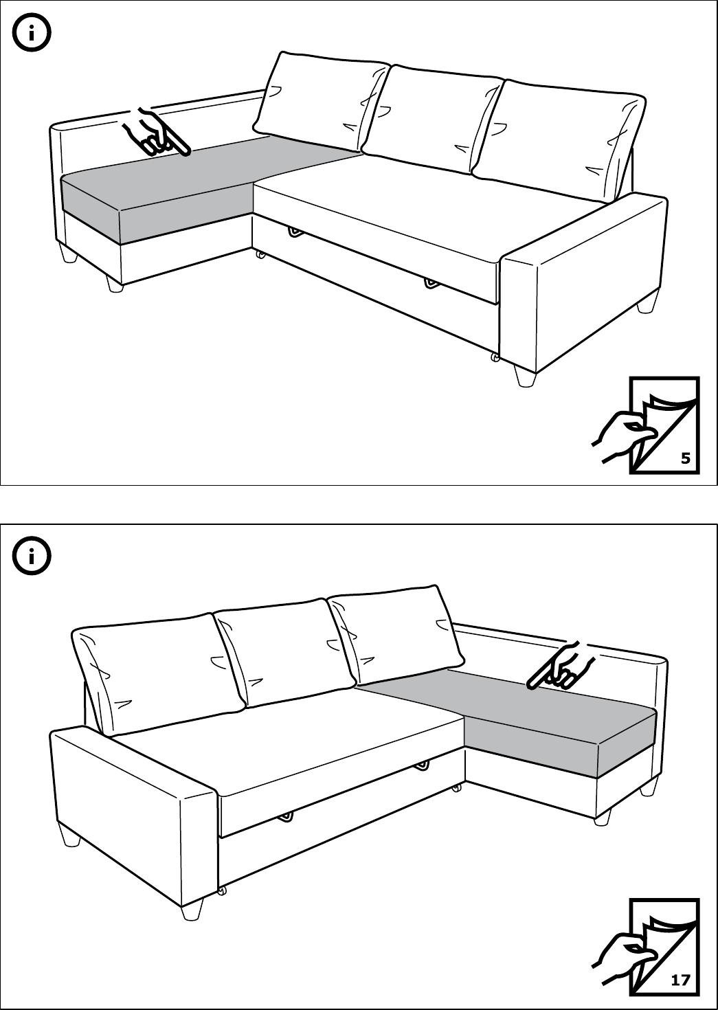Bedienungsanleitung Ikea Friheten Seite 1 Von 28 Alle Sprachen