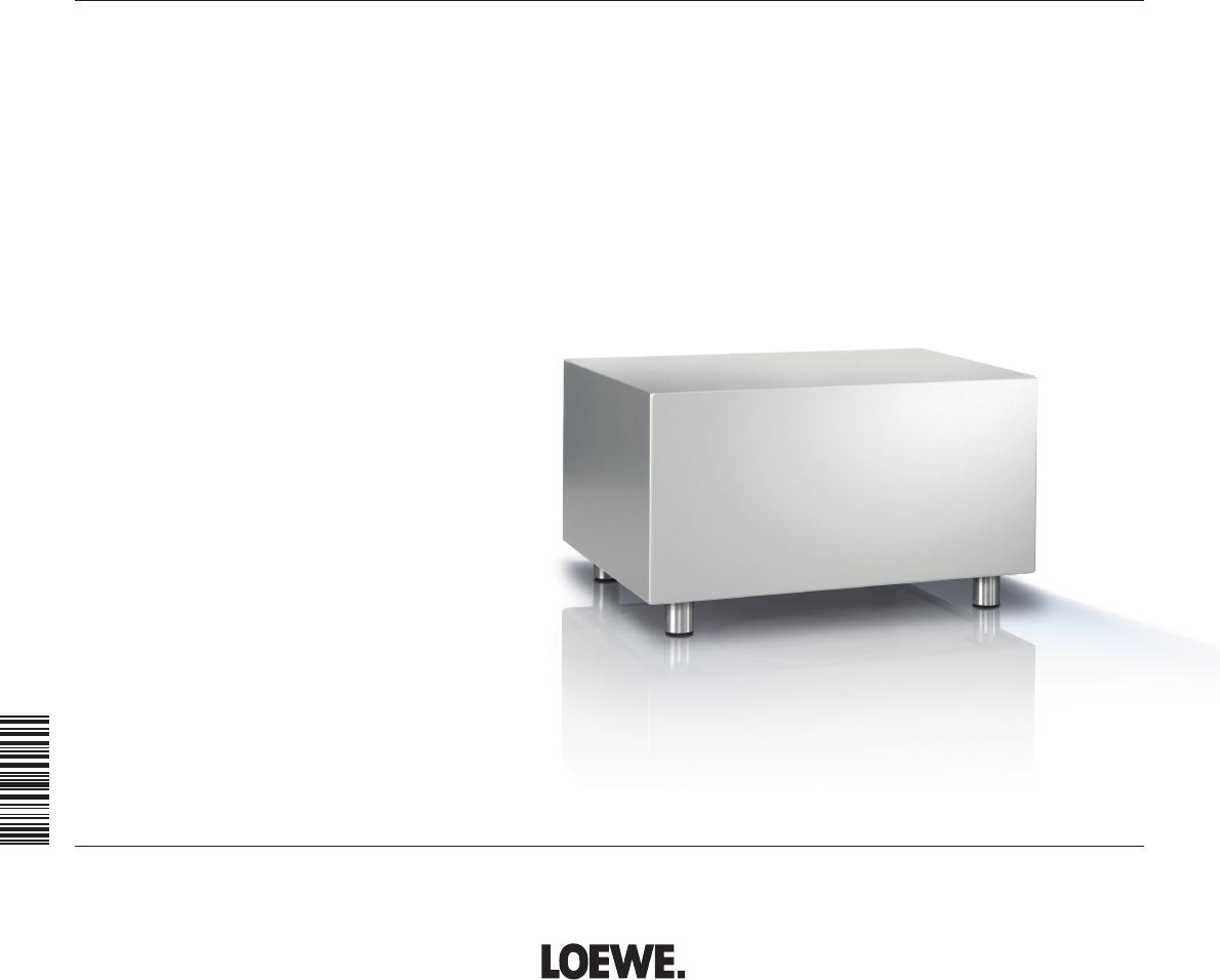bedienungsanleitung loewe subwoofer 525 seite 1 von 62 d nisch deutsch englisch spanisch. Black Bedroom Furniture Sets. Home Design Ideas