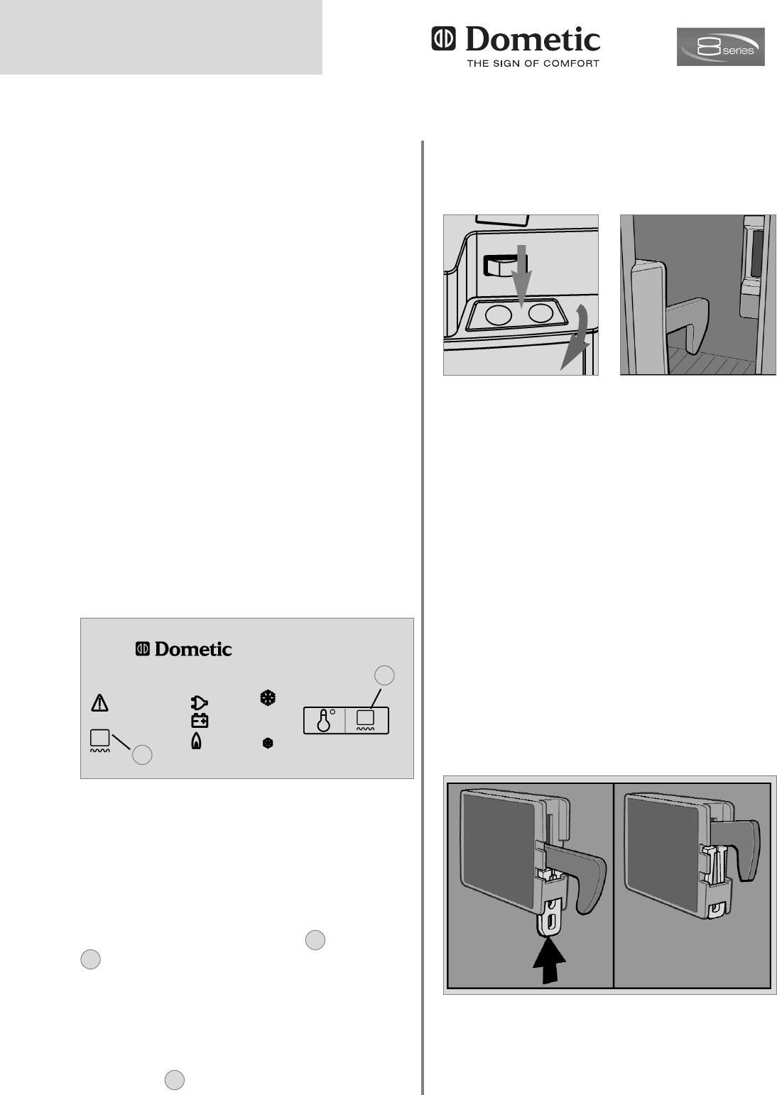 bedienungsanleitung dometic rmd 8505 seite 18 von 26. Black Bedroom Furniture Sets. Home Design Ideas