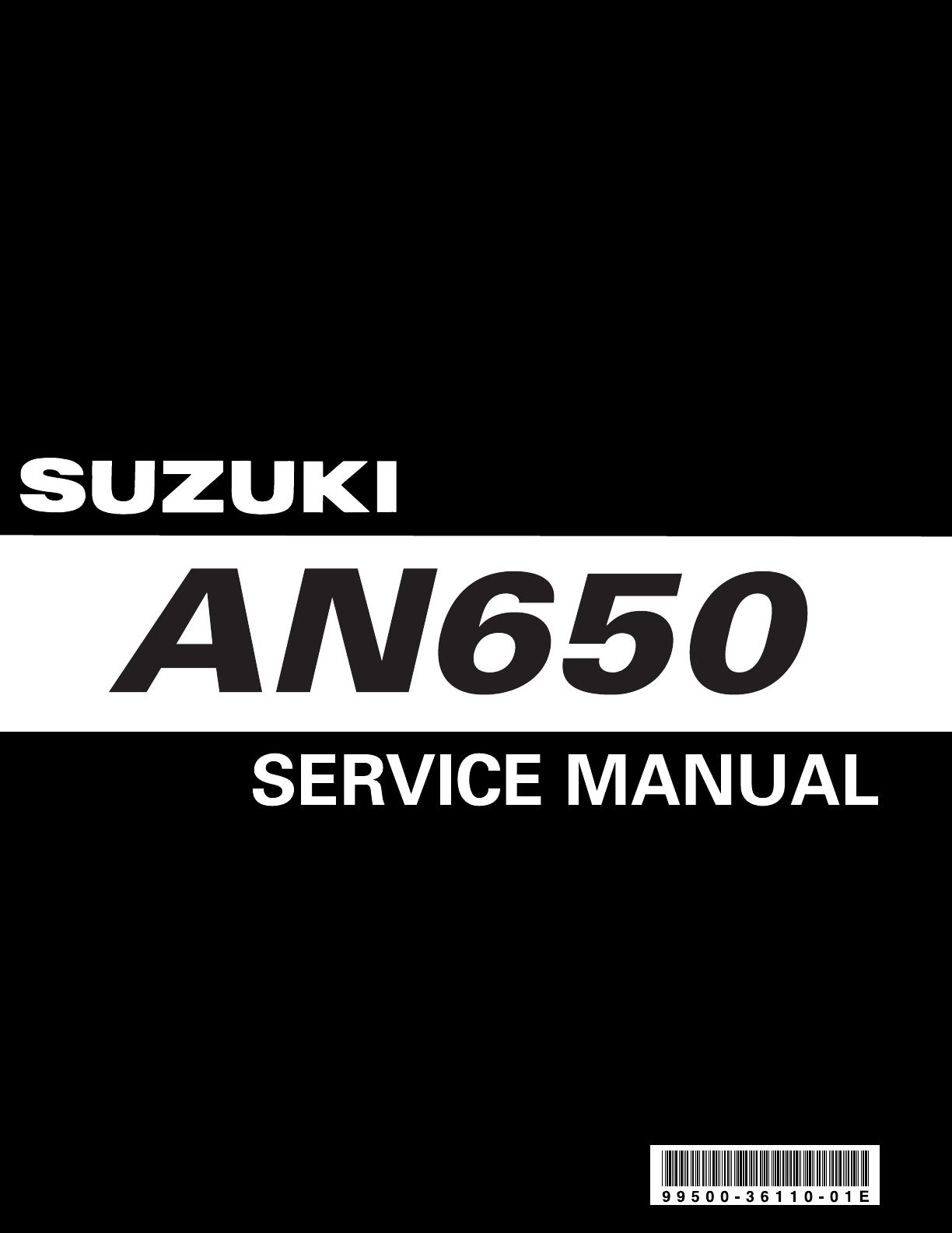 Suzuki An650 Wiring Diagram Simple Bedienungsanleitung An 650 Burgman K3 Seite 1 Von 463