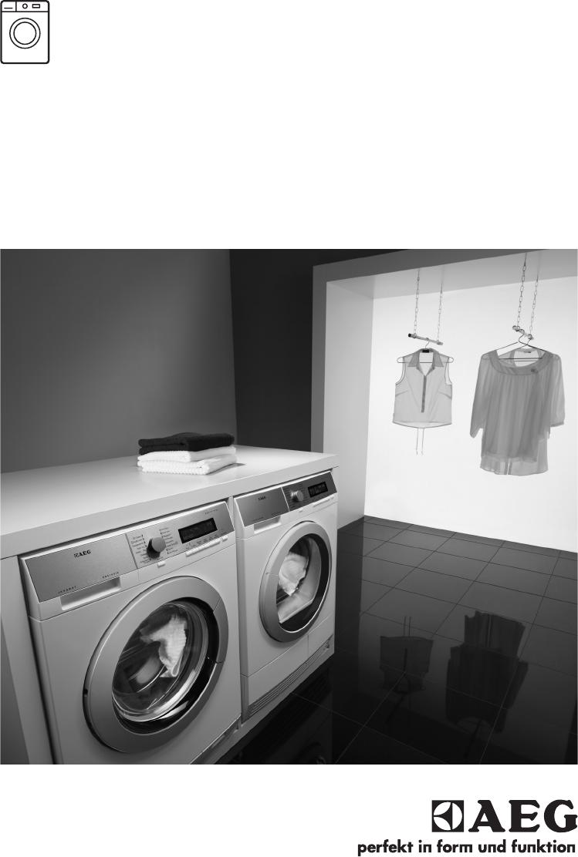 bedienungsanleitung aeg lavamat 60460fl seite 1 von 36 englisch. Black Bedroom Furniture Sets. Home Design Ideas