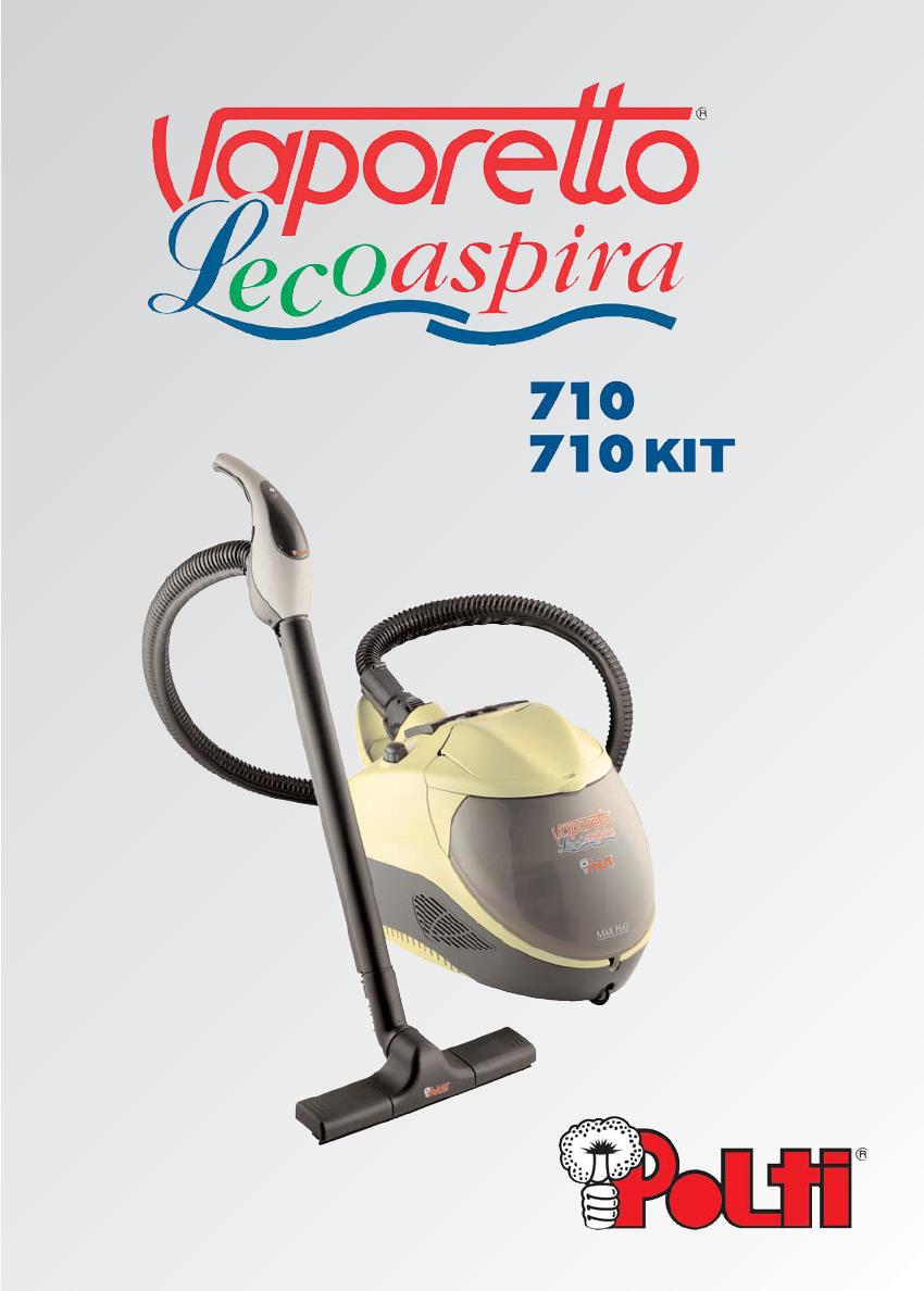 Ricambi Lecoaspira 710.Bedienungsanleitung Polti Vaporetto Lecoaspira 710 Seite 3
