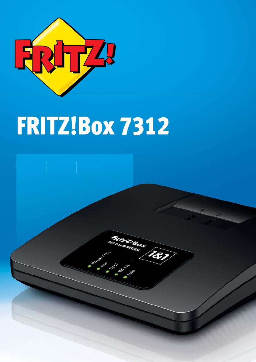 bedienungsanleitung avm fritzbox 7312 seite 1 von 164 deutsch. Black Bedroom Furniture Sets. Home Design Ideas