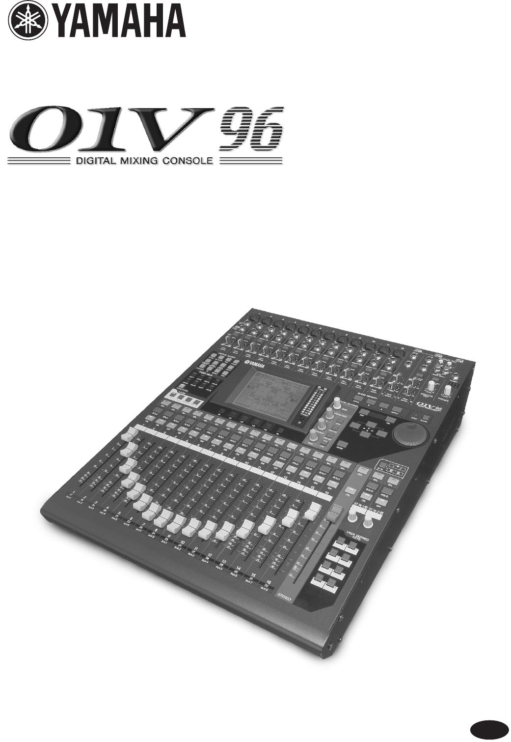 Yamaha 01v96 Block Diagram Wiring Database Library Yamaha Powered Speakers 01v96  Block Diagram