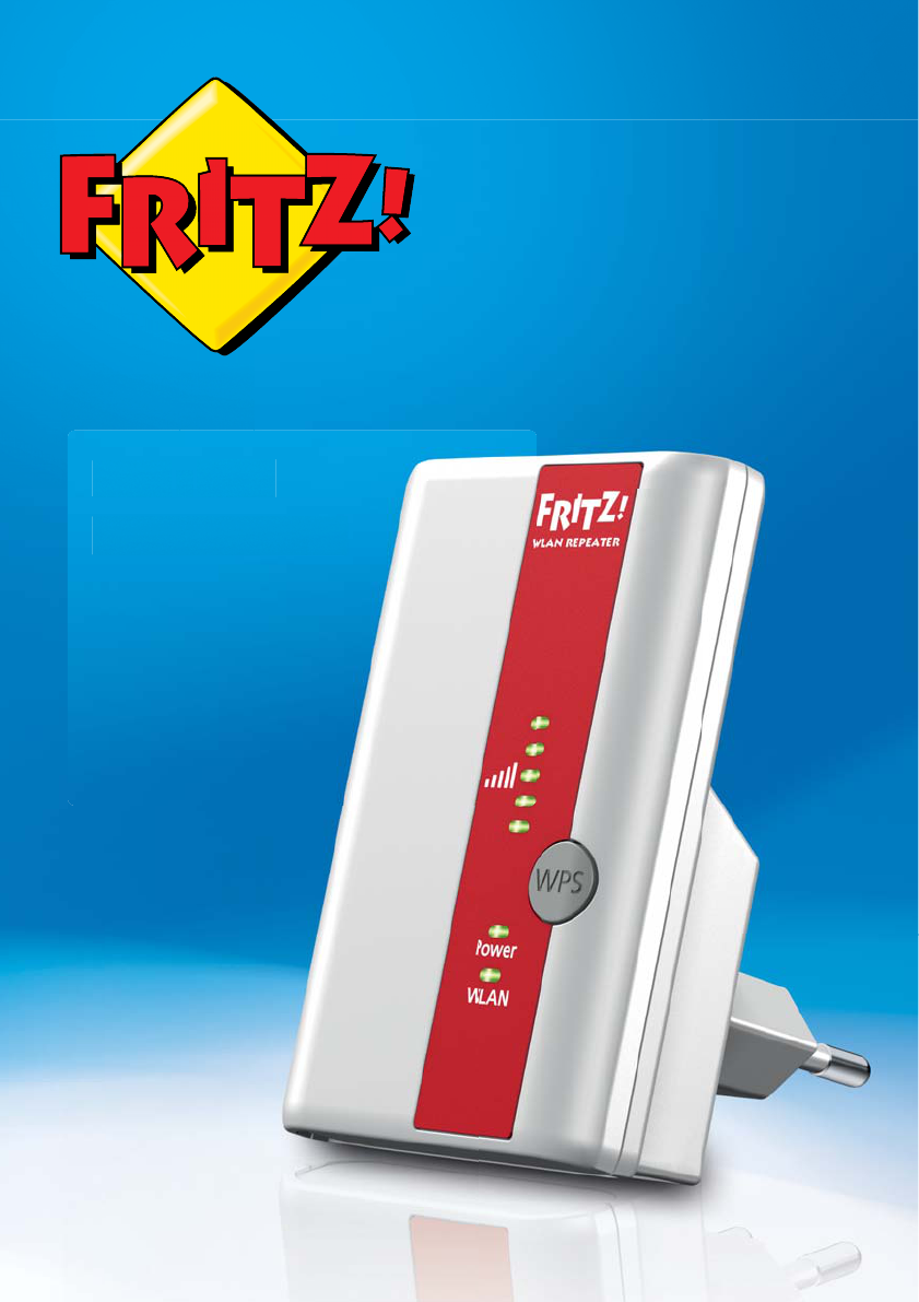 User manual AVM Frtiz!WLAN Repeater 310 (41 pages)