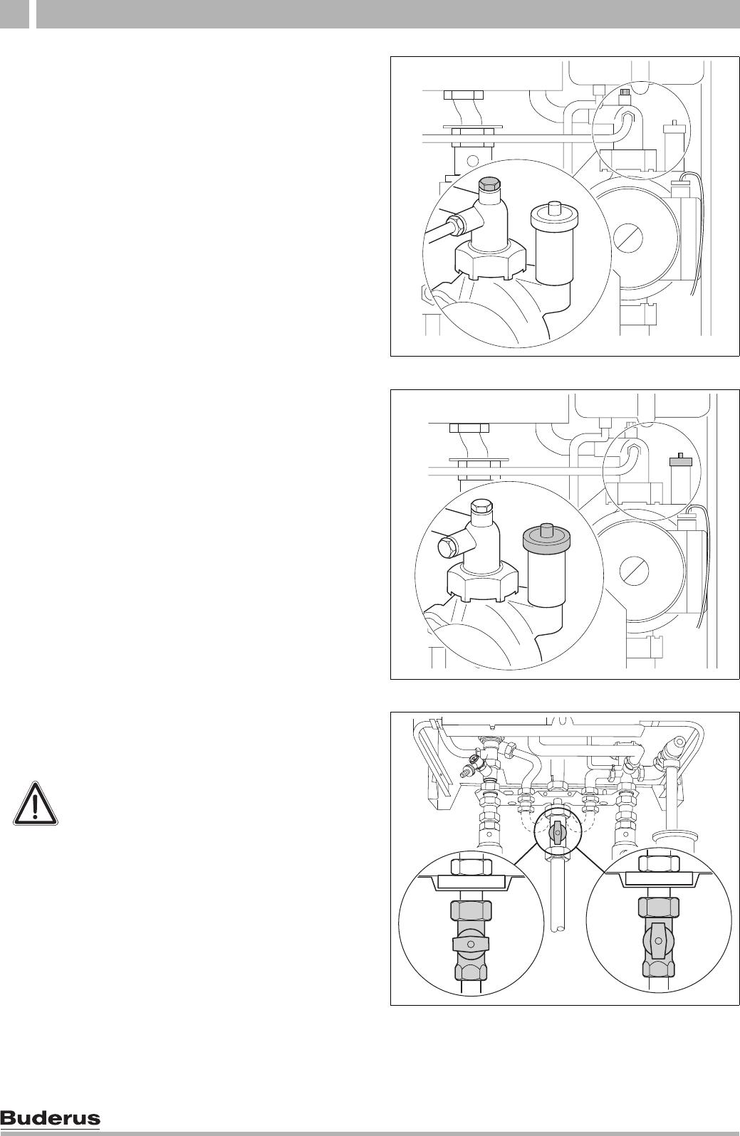 bedienungsanleitung buderus logamax u122 11 seite 16 von. Black Bedroom Furniture Sets. Home Design Ideas
