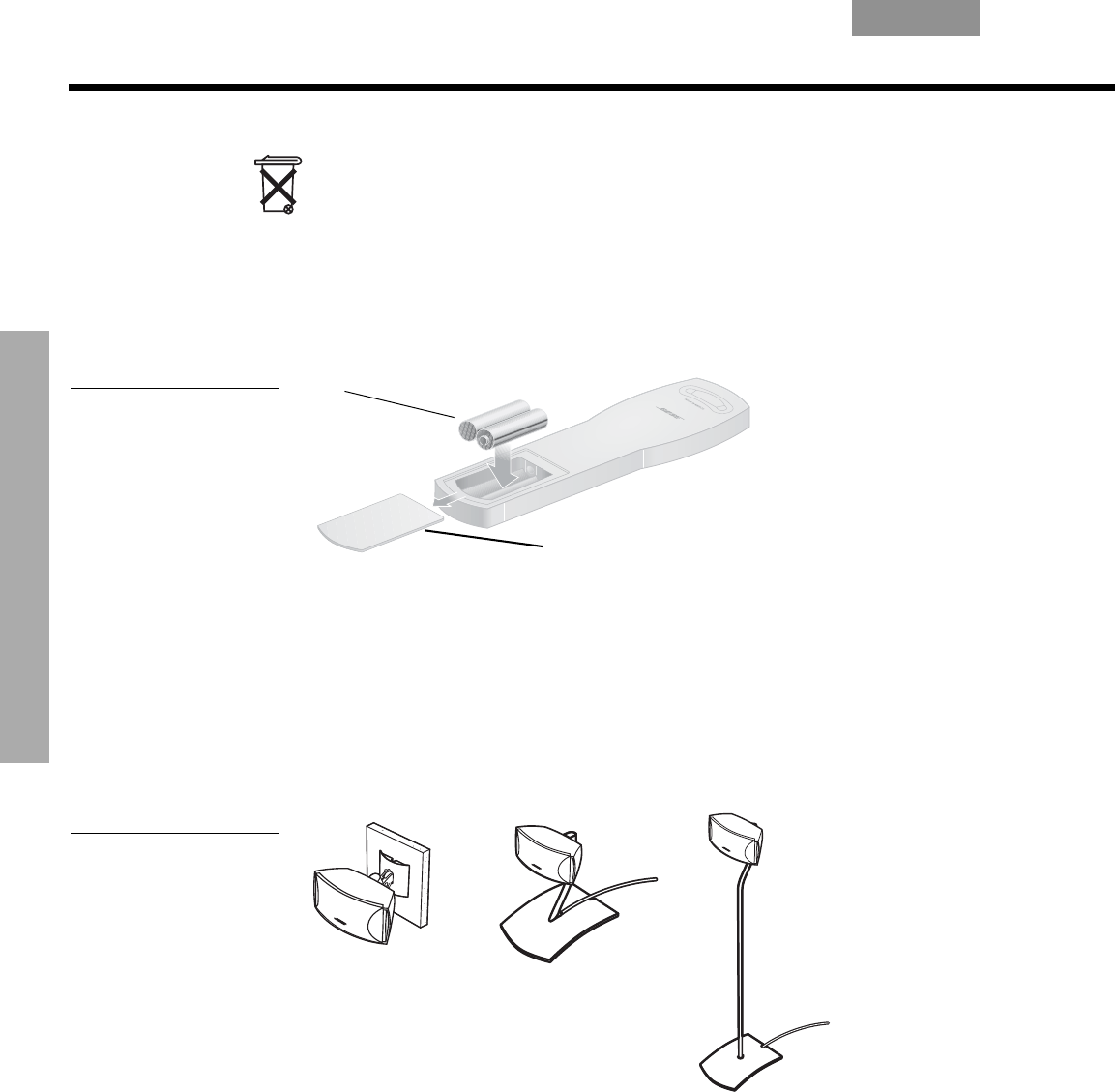 Bedienungsanleitung Bose 321 GSX serie 2 (Seite 54 von 84) (Deutsch)
