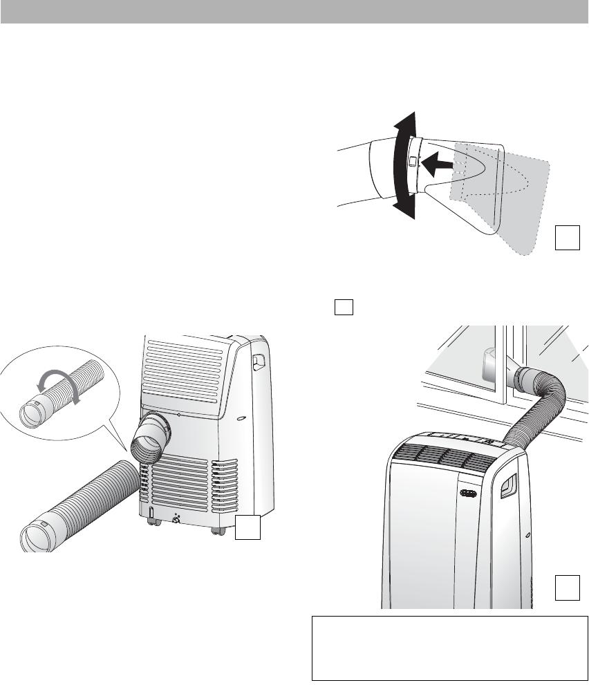 bedienungsanleitung delonghi pac n76 pinguino seite 2 von. Black Bedroom Furniture Sets. Home Design Ideas