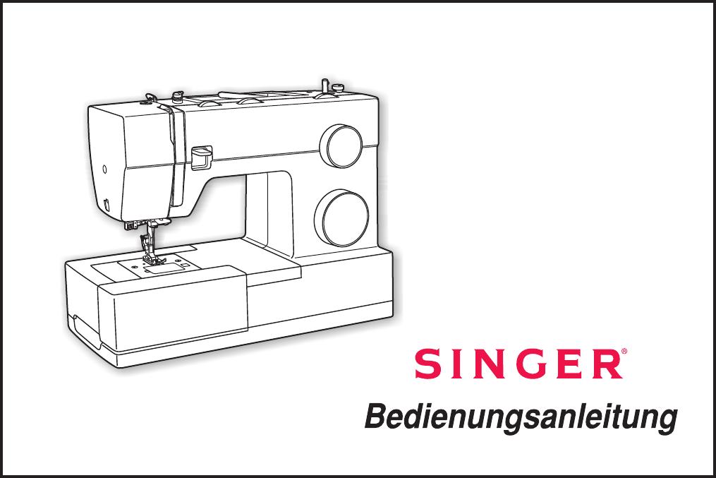 bedienungsanleitung singer 4432 seite 1 von 33 deutsch. Black Bedroom Furniture Sets. Home Design Ideas