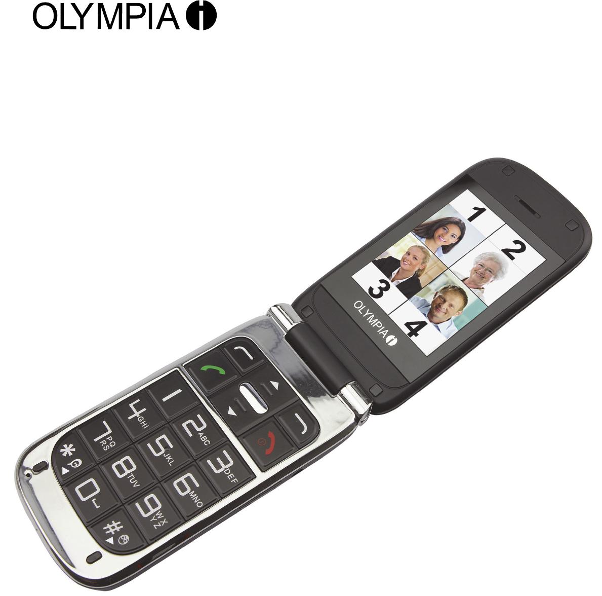Bedienungsanleitung Olympia
