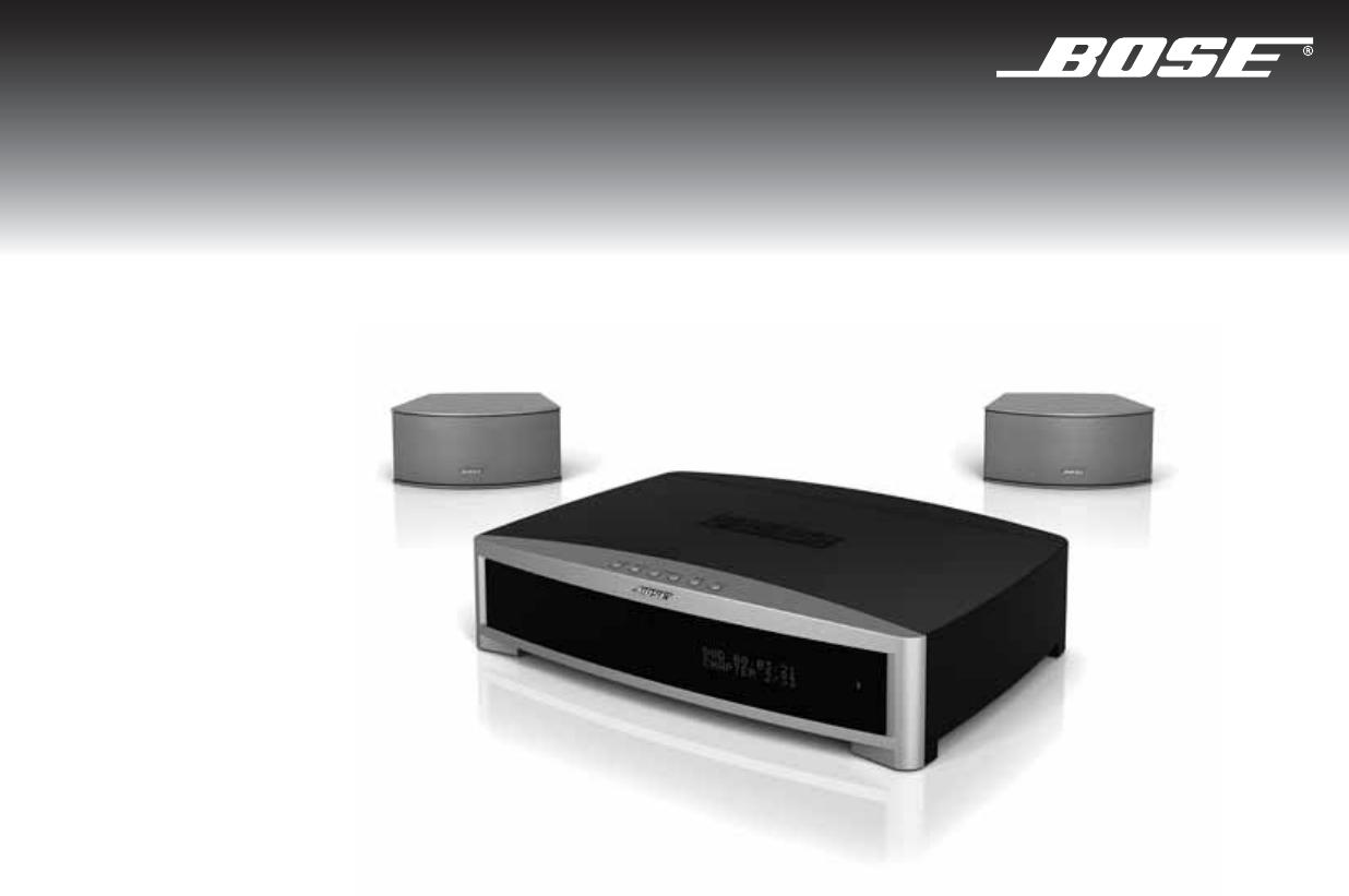 Bedienungsanleitung Bose 3 2 1 GS Series 3 (Seite 60 von 106 ...