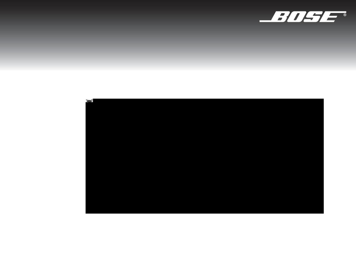 Bedienungsanleitung Bose 3 2 1 GSX Series 3 (Seite 66 von 108 ...