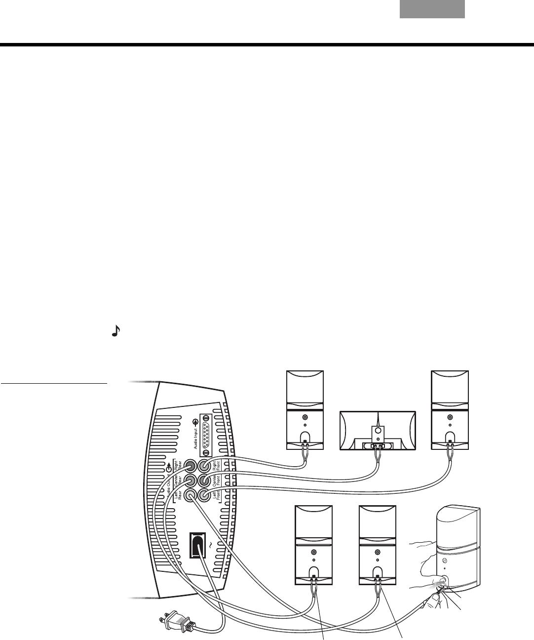 Bedienungsanleitung Bose Acoustimass 16 II (Seite 8 von 16) (Deutsch)