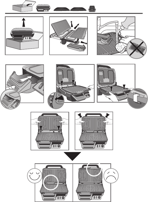 Bedienungsanleitung Tefal GC3060 Ultra Compact (Seite 3 von 44) (Alle  Sprachen)