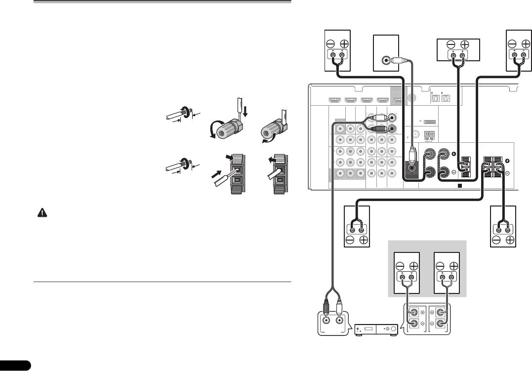 Bedienungsanleitung Pioneer VSX-521-K (Seite 112 von 128) (Deutsch ...