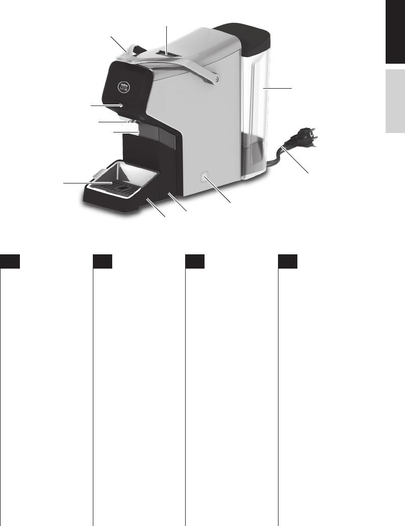 Bedienungsanleitung Aeg Lm3100 Lavazza A Modo Mio Seite 1 Von 24