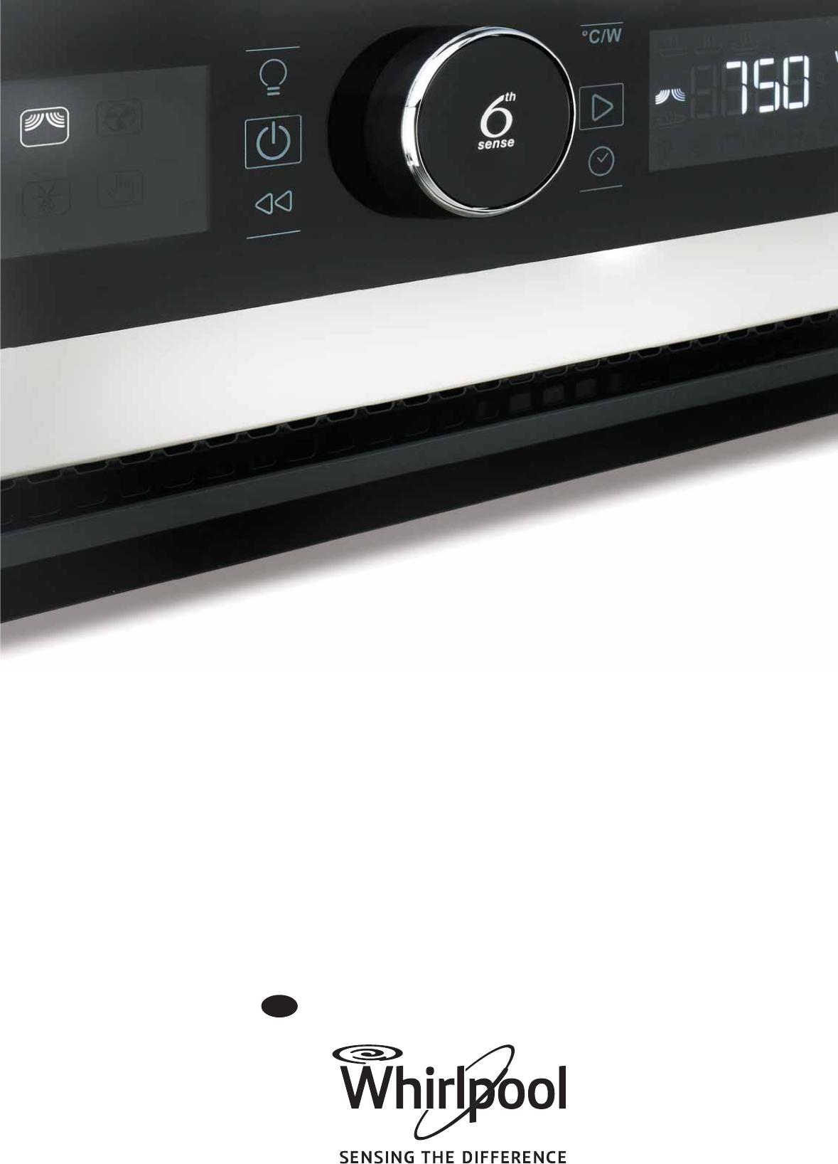 bedienungsanleitung whirlpool amw 848 ix seite 1 von 24 englisch. Black Bedroom Furniture Sets. Home Design Ideas