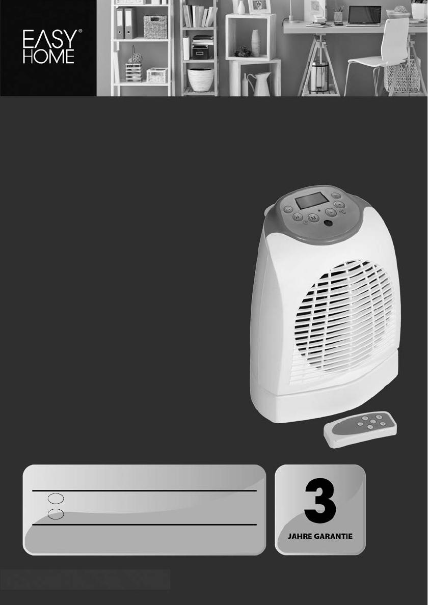 bedienungsanleitung easy home gt hl 02 seite 1 von 20 deutsch. Black Bedroom Furniture Sets. Home Design Ideas