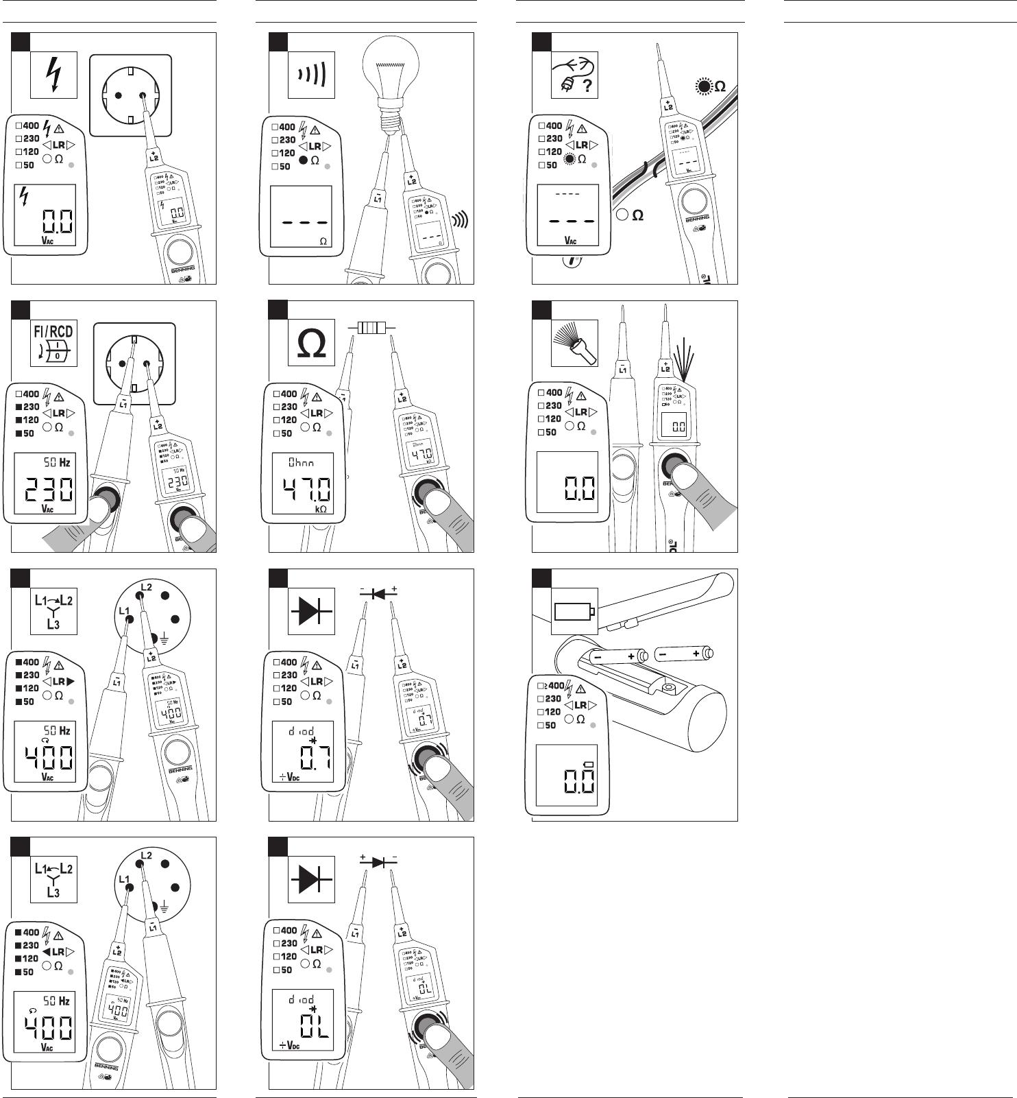 Favorit Bedienungsanleitung Benning Duspol Digital (Seite 1 von 83 NM66
