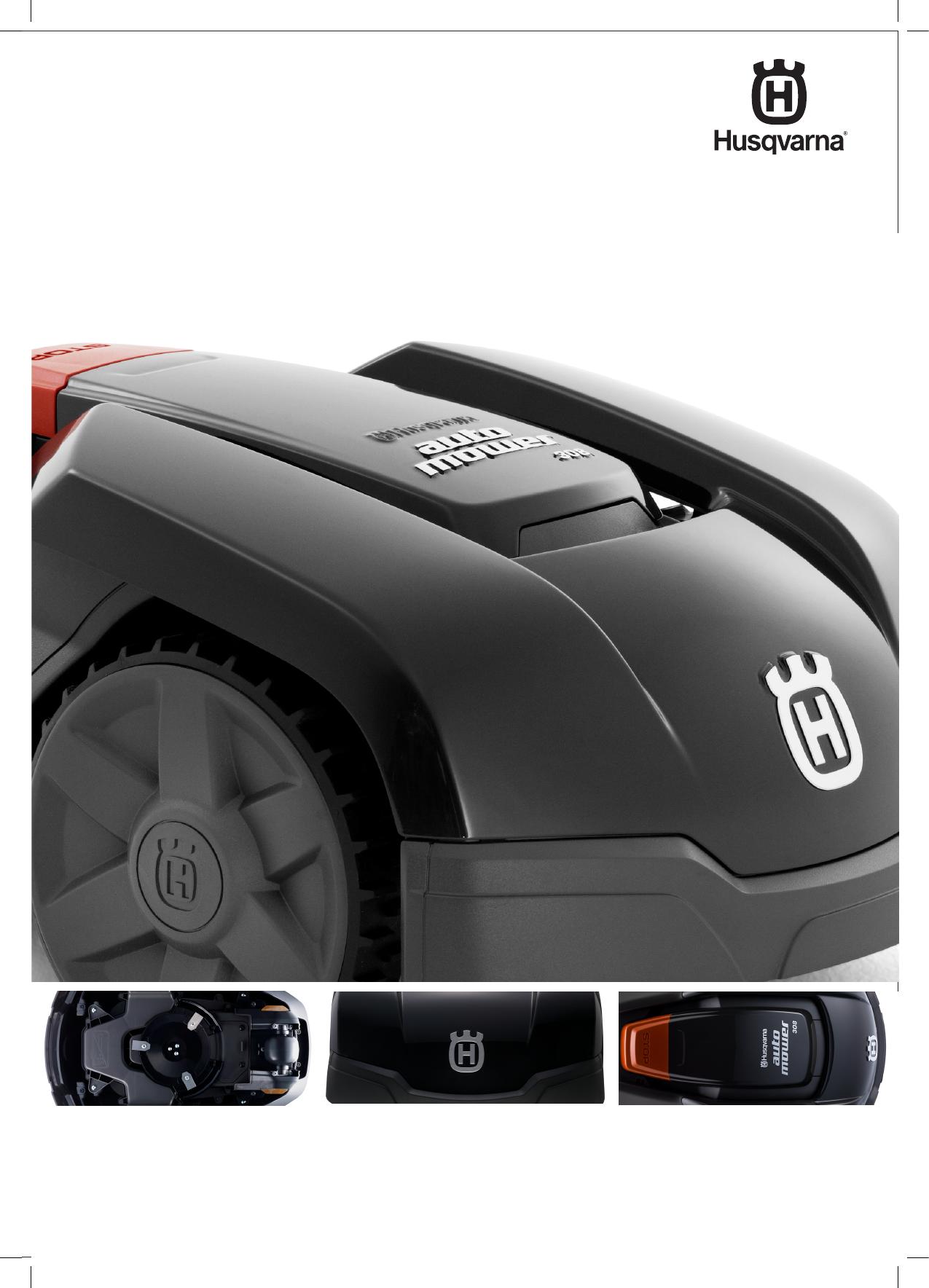 bedienungsanleitung husqvarna automower 308 seite 1 von 80 deutsch. Black Bedroom Furniture Sets. Home Design Ideas