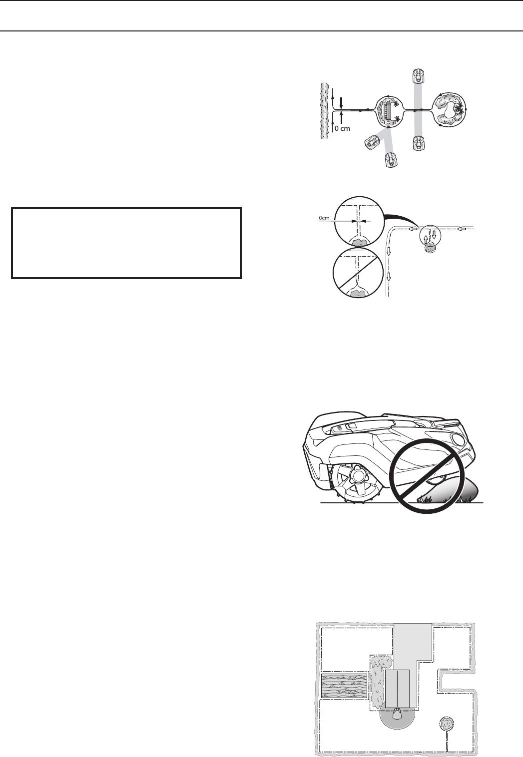 bedienungsanleitung husqvarna automower 320 seite 25 von 96 deutsch. Black Bedroom Furniture Sets. Home Design Ideas