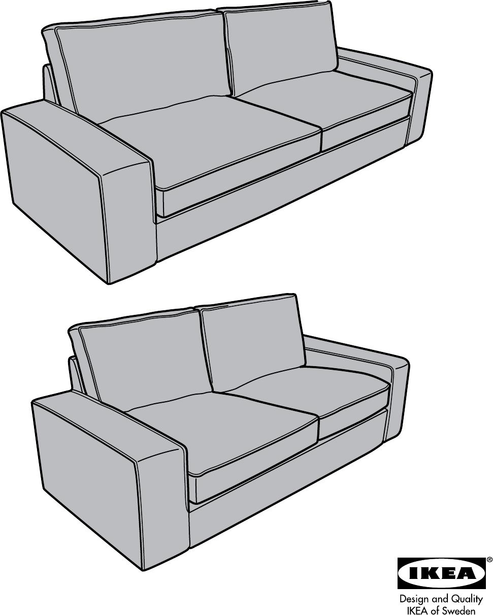 Sprachen 1 Sofaseite Ikea Kivik 16alle Bedienungsanleitung Von RjAL354