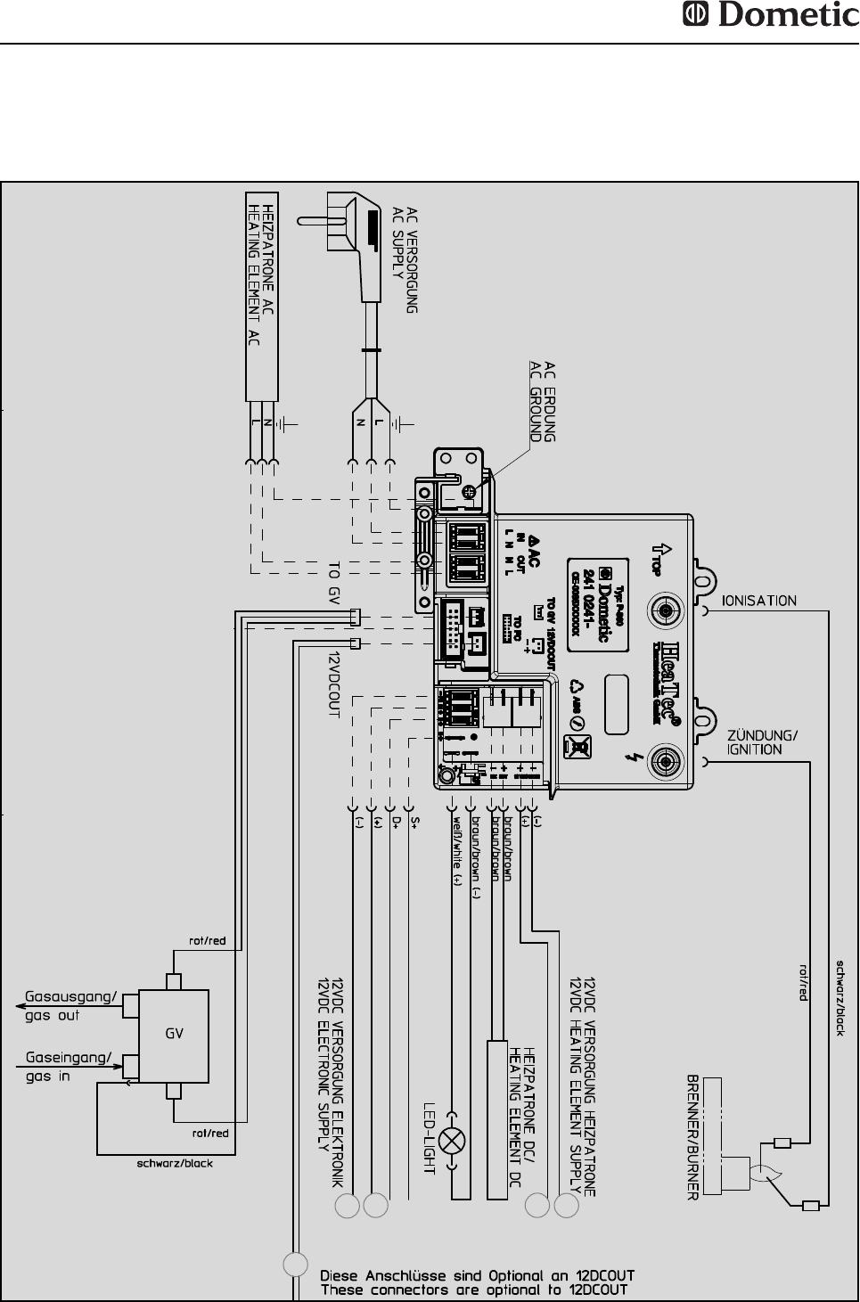 Bedienungsanleitung Dometic RMD 8555 (Seite 21 von 120) (Deutsch ...