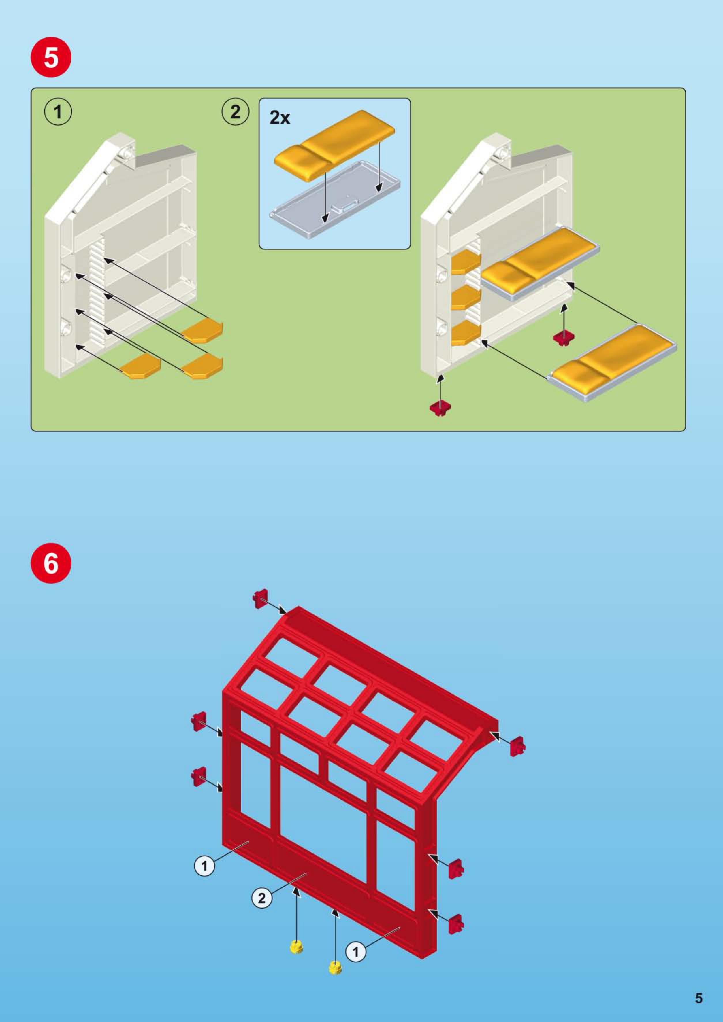 Bedienungsanleitung Playmobil 5361 Seite 1 Von 16 Alle Sprachen