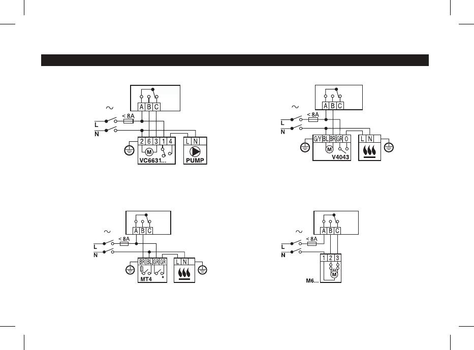 Bedienungsanleitung Honeywell THR870CBG - Homexpert (Seite 22 von 34 ...
