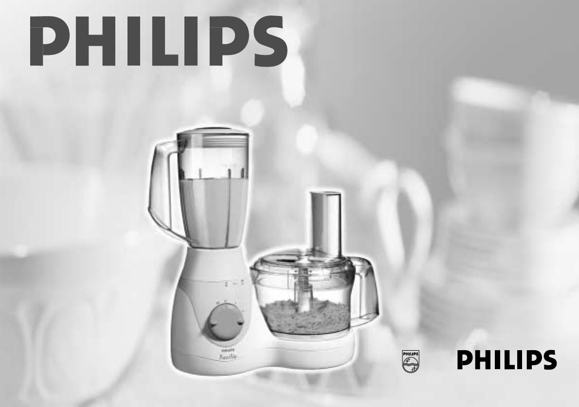 Bedienungsanleitung Philips hr 7724 cucina (Seite 1 von 104 ...